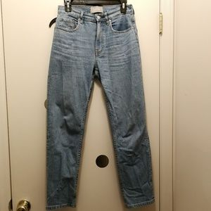 Everlane classic high rise 90s vintage jeans